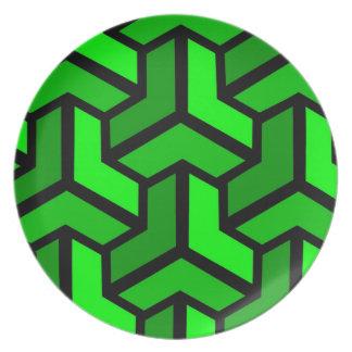 Paradoks (Green) Plate