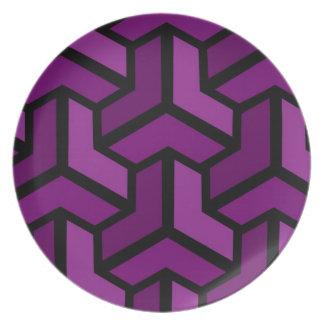 Paradoks (Purple) Plate