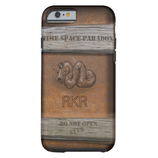 PARADOX BOX with YOUR INITIALS Tough iPhone 6 Case