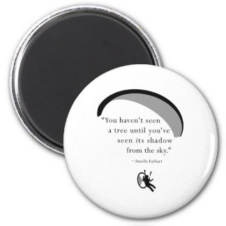 paraEarhart 2 Inch Round Magnet