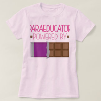 Paraeducator Chocolate Gift for Her T-Shirt