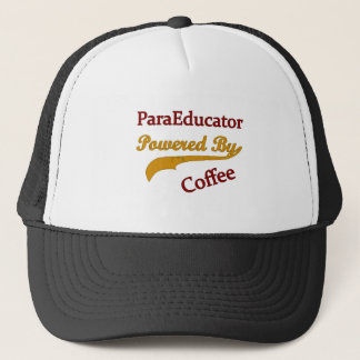 ParaEducator Powered By Coffee Trucker Hat