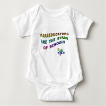 PARAEDUCATORS ARE THE STARS OF SCHOOLS BABY BODYSUIT