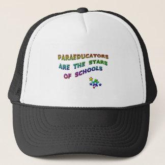 PARAEDUCATORS ARE THE STARS OF SCHOOLS TRUCKER HAT