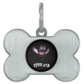 Paraffin Roared burner 9500 BTU Pet ID Tag
