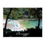 paraggi bay post card