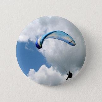 Paraglider in Flight Pinback Button