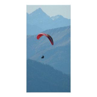 Paraglider Paragliding Para Glide Card
