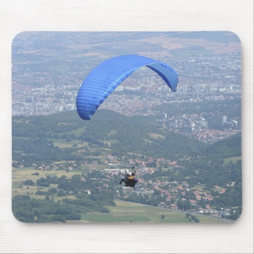 Paraglider photo mouse pad