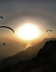 am flying without wings