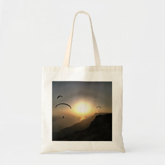 Paragliders Flying Without Wings Tote Bag