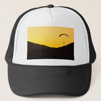 paragliding-at-sunset trucker hat