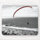Paragliding By The Ocean Mousepad