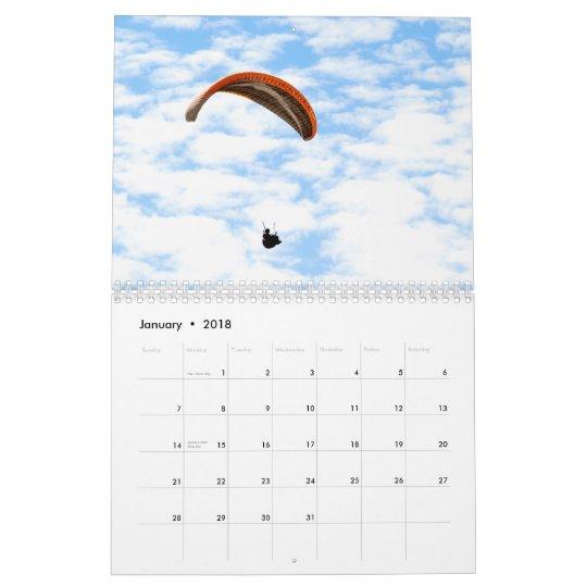 Paragliding Calendar 2012