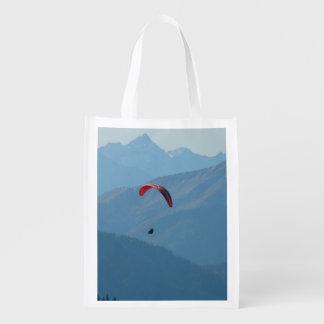 Paragliding del ala flexible bolsas reutilizables