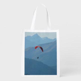 Paragliding del ala flexible bolsa reutilizable