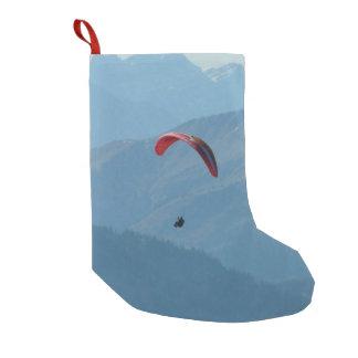 Paragliding del ala flexible del deslizamiento de bota navideña pequeña
