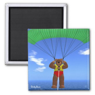 Paragliding Dinky Bear