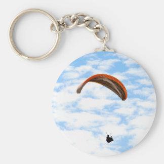 Paragliding en las nubes - llavero adaptable