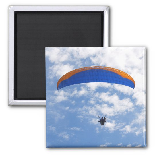 Paragliding in the Clouds 2 Magnet