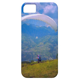Paragliding in the French alps iPhone SE/5/5s Case