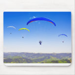Paragliding into the Black Forest Mouse Pads