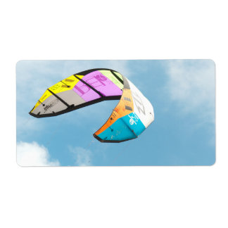 PARAGLIDING SHIPPING LABEL