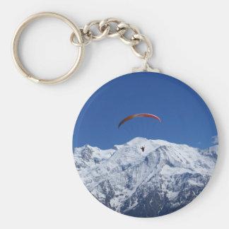 Paragliding Llavero Redondo Tipo Pin