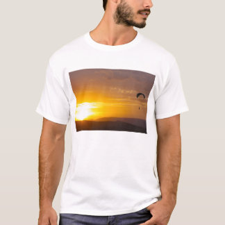 Paragliding on the sunset T-Shirt