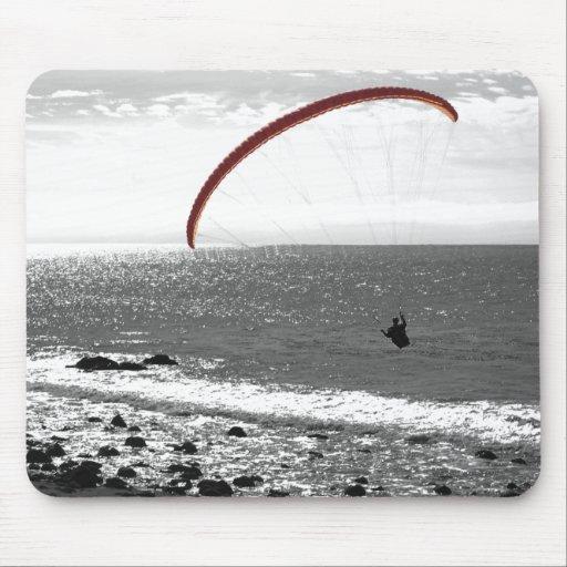 Paragliding por el océano Mousepad
