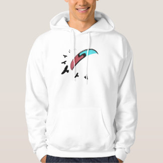 Paragliding with Buzzard Hoodie