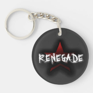 Paragon or Renegade: Double-sided Key-chain Acrylic Key Chain