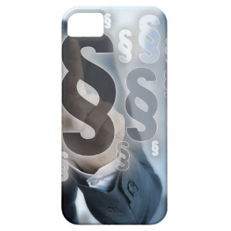 Paragraphs are selected by businessman iPhone SE/5/5s case