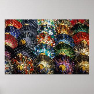 Paraguas coloridos, Bangkok (Tailandia) Impresiones
