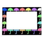 Paraguas coloridos marcos magneticos