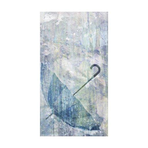 Paraguas de Brett Pfister Impresión En Lona