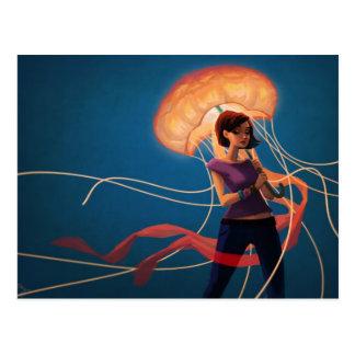 Paraguas de las medusas postales