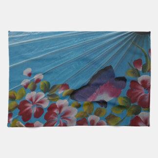 paraguas de papel toallas de cocina