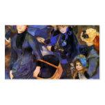 Paraguas de Pedro-Auguste Renoir- Plantillas De Tarjetas De Visita