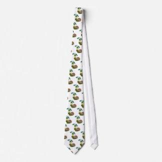 paraguas del caracol 3d corbata