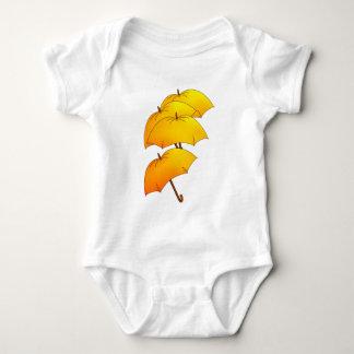 Paraguas del vuelo remera
