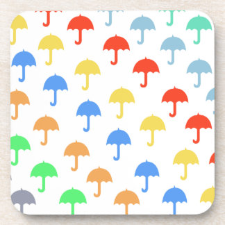 Paraguas flotantes abstractos posavaso