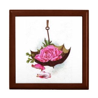 Paraguas Giftbox color de rosa rosado Cajas De Regalo
