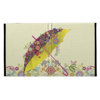 Paraguas hermoso de la flor y del pájaro/parasol