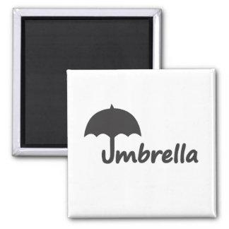 Paraguas Imán Cuadrado