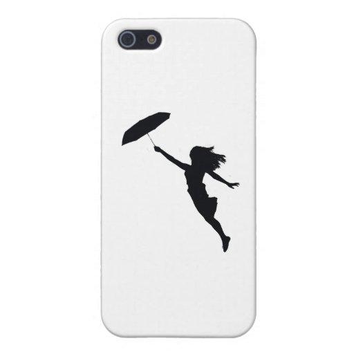 Paraguas iPhone 5 Cárcasas
