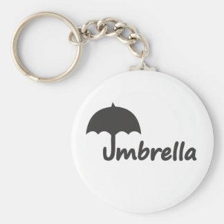 Paraguas Llavero Redondo Tipo Pin