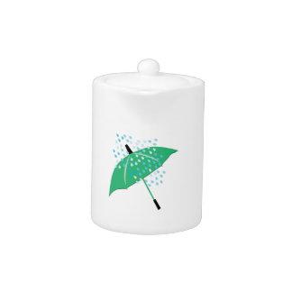 Paraguas lluvioso