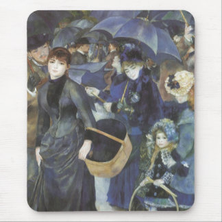 Paraguas por Renoir arte del impresionismo del Tapetes De Ratones
