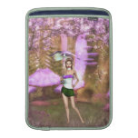 Paraguas púrpura fundas macbook air